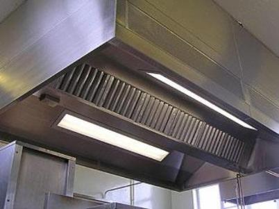 small kitchen canopy and filters